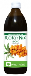 Rokitnik SOK 100% Altermedica (500ml)