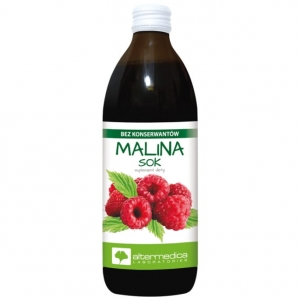 Malina SOK 100% Altermedica (500ml)