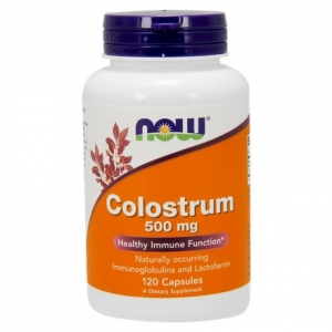 Colostrum NOW 500mg (120kaps.)