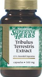 Tribulus Terrestris extract 500mg (60 kps)
