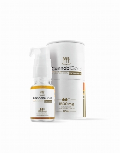 Cannabi Gold Premium 1500mg CBD (12ml)