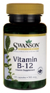 Witamina B-12 do ssania 1000 mcg (100 tab)